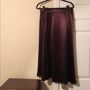 H&M Satin MIDI skirt
